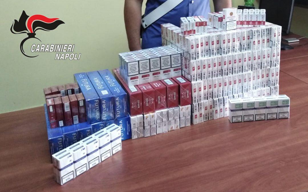 Arrestato per evasione e contrabbando di sigarette