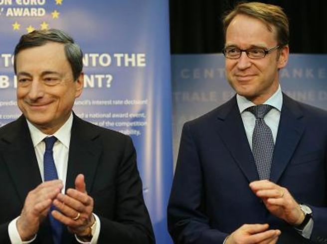 La vista corta dei privilegiati dell'Europa: La lungimiranza di Draghi e le giravolte di Weidmann, il falco che si fingeva colomba