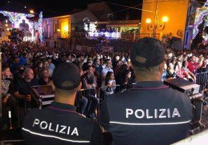 Sparatoria a Piscopio, festa di San Michele blindata Massiccia presenza di Polizia al concerto di Anna Tatangelo