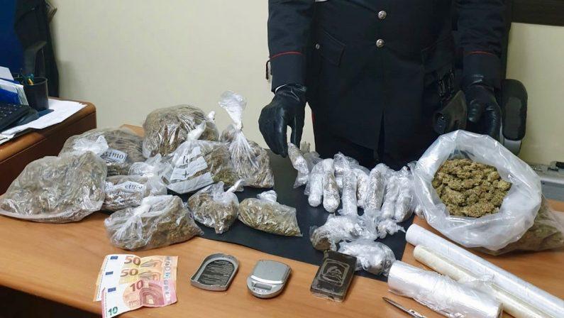 Carabinieri arrestano spacciatore percettore di reddito cittadinanza