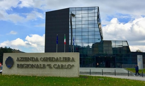 L'azienda ospedaliera San Carlo di Potenza