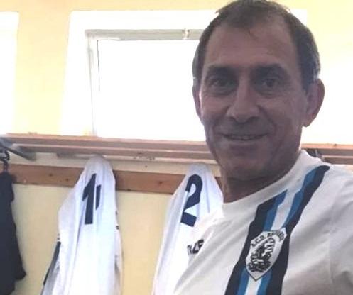 Calcio, Antonio Musumeci in campo a 55 anni nel torneo di Promozione