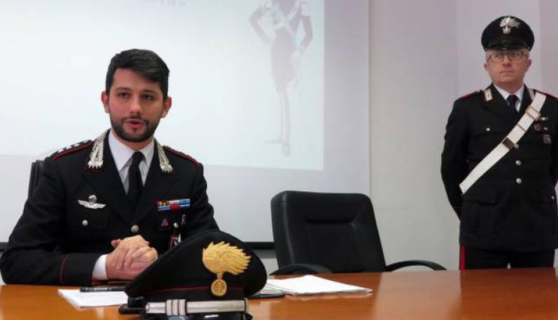 Marco Califano è il nuovo comandante della compagnia di Castello di Cisterna