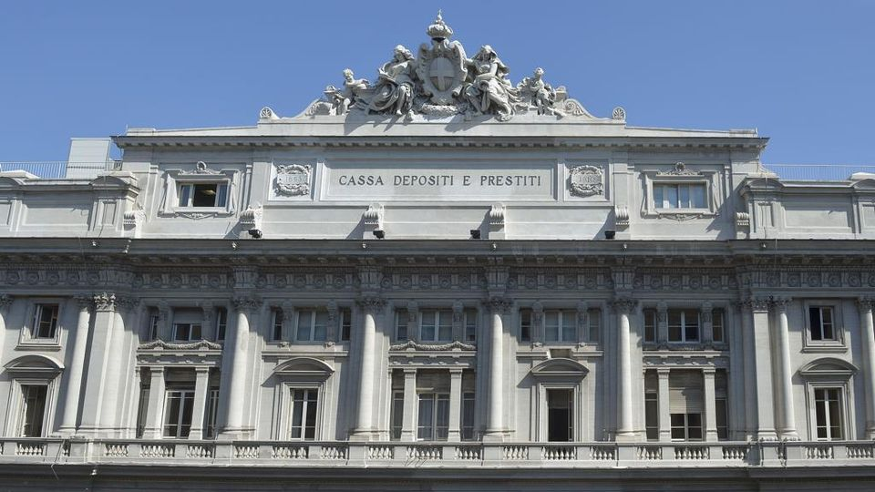Roma, via Goito, sede centrale della Cassa Depositi e Prestiti
