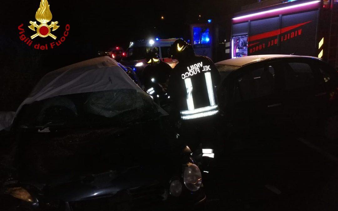 Un'immagine del luogo dell'incidente