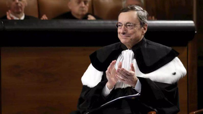 """""""WHATEVER IT TAKES"""", LE PAROLE CHE SALVARONO L'EURO L'Italia ha bisogno di un nuovo De Gasperi, l'Europaha ancora bisogno di Draghi"""