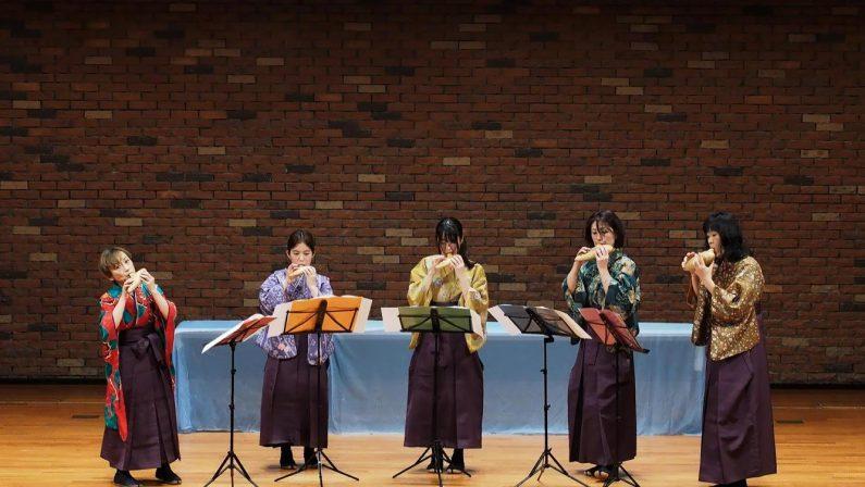 Al Ravello Festival fuori programma con l'Ocarina Japan Orchestra