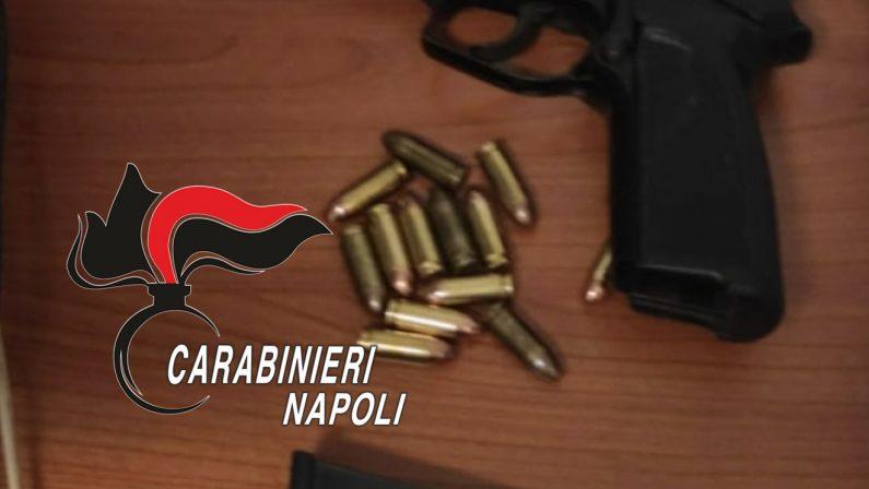 Detenzione illegale di arma clandestina, 2 arresti