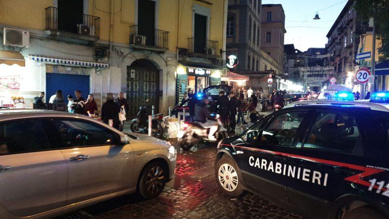 Raffica di controlli al Rione Sanità da parte dei Carabinieri