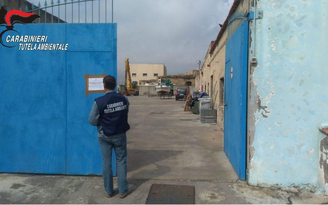 Sequestrato cantiere navale a Napoli per smaltimento illecito di rifiuti speciali
