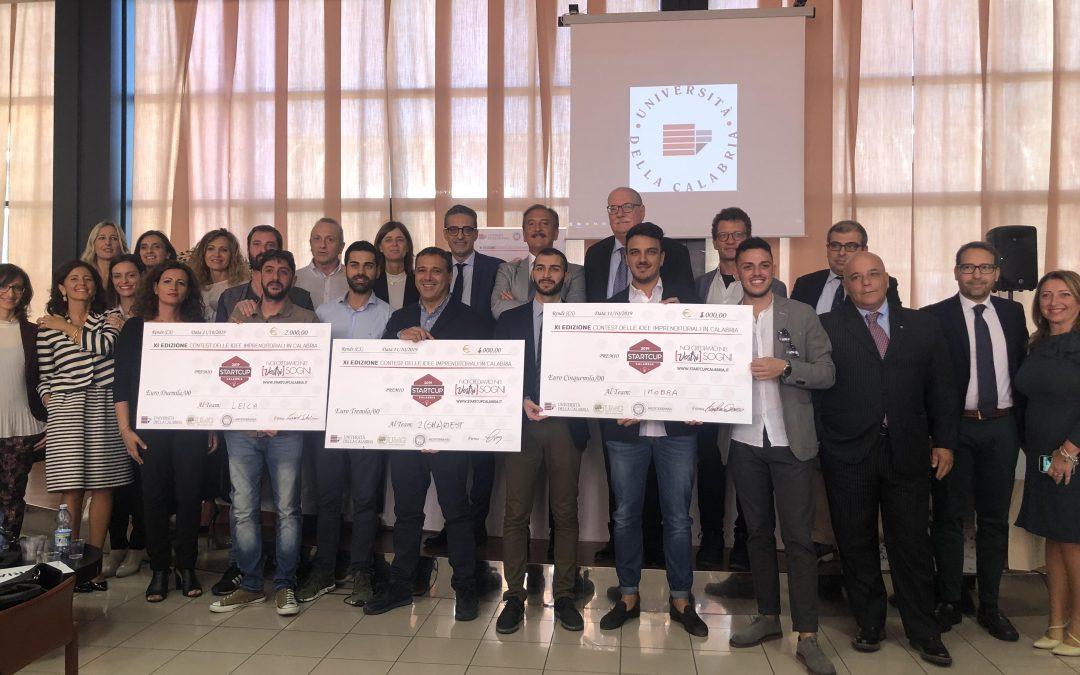 Start Cup 2019, assegnati i primi tre premi