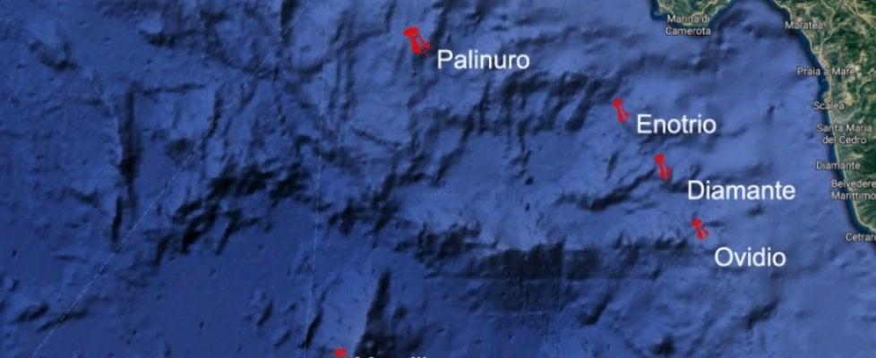 Vulcani sottomarini sotto la costa calabrese, gli studiosi ne scoprono uno grande quanto il Vesuvio