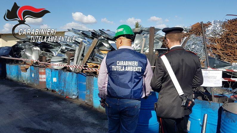Acerra, 17.000 mc di rifiuti speciali stoccati illecitamente