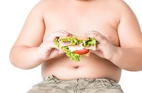 Bambini obesi, record in Campania