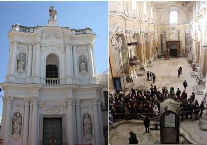 Aversa, riapre al culto la chiesa chiusa dal terremoto dell'80