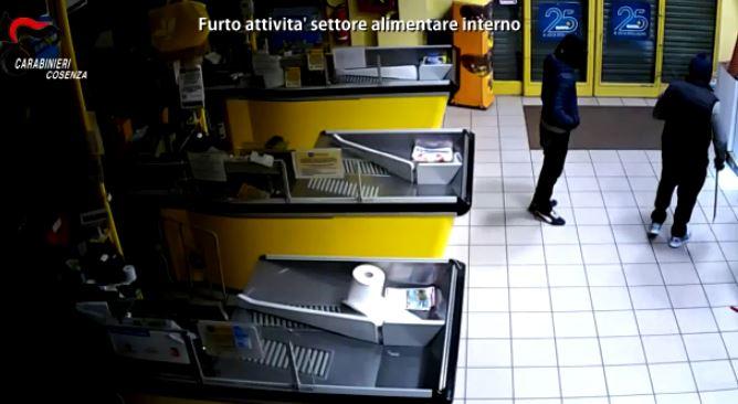 Rapine in abitazioni e furti in negozi, 19 arresti dei carabinieri a Cosenza