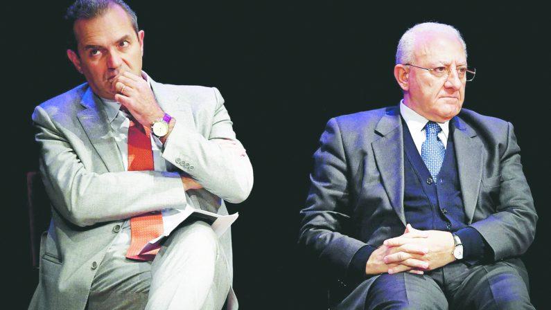 Bassolino, De Magistris e De Luca non si salutano? Sbagliano