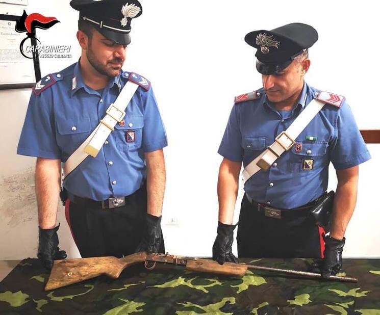 Nuovo sequestro di armi nella Locride, rinvenuto un fucile