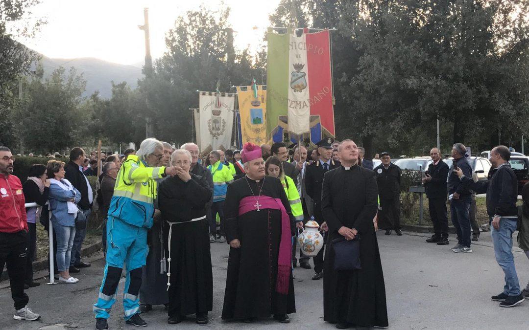 San Francesco, ieri la tradizionale marcia dei sindaci della Valle del Calore