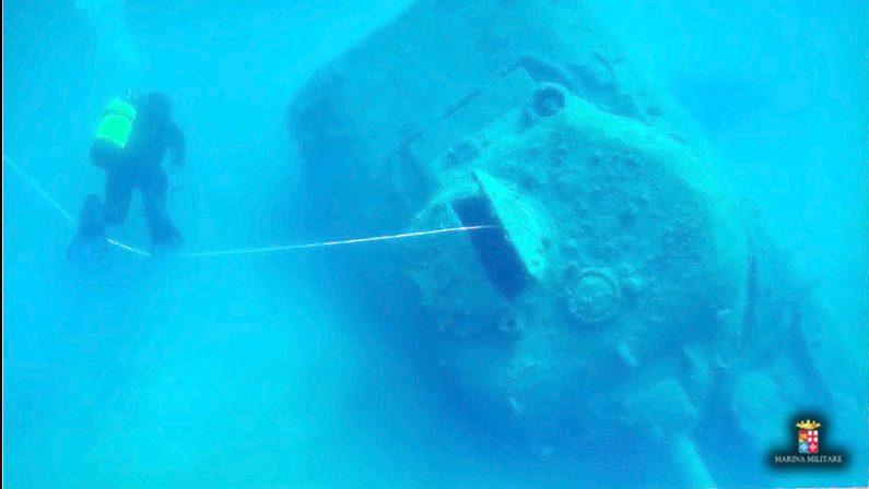 Paestum, ritrovato un vecchio mezzo da sbarco carico di munizioni