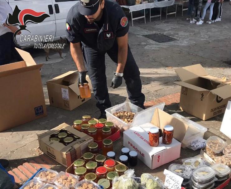 Prodotti alimentari privi di documentazione, sequestro nel Cosentino