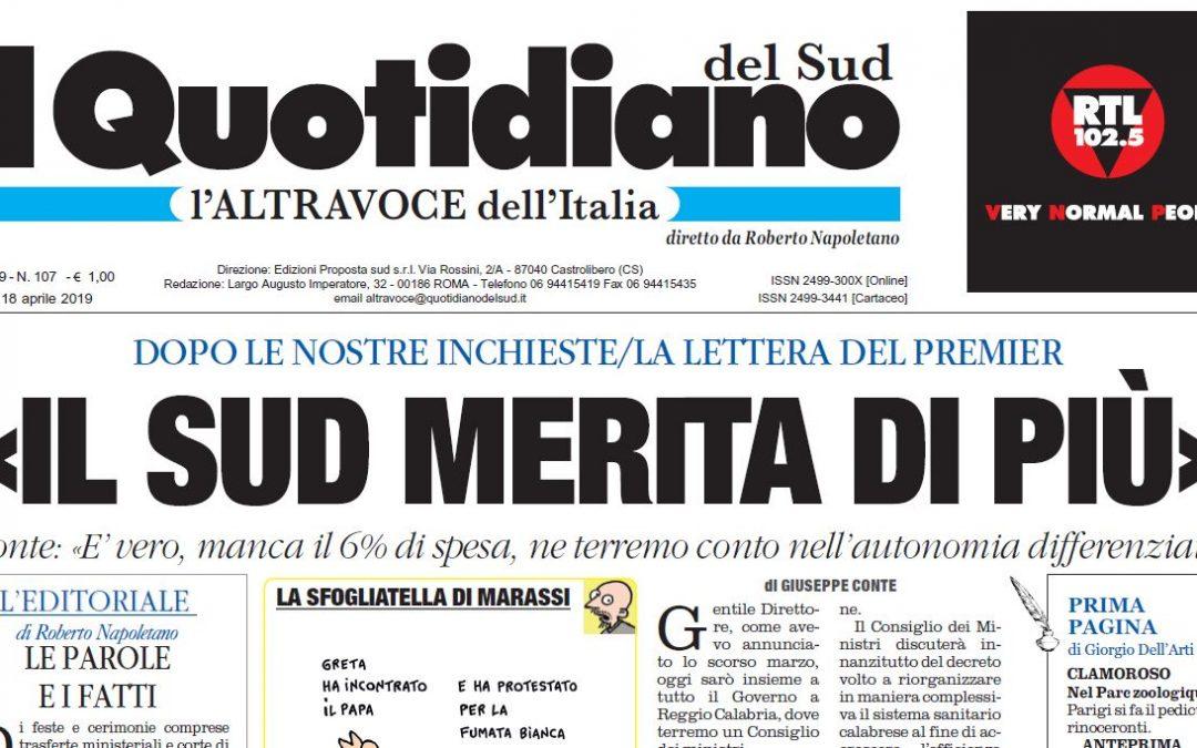 L'editoriale del direttore Roberto Napoletano Il complesso di colpa che debilita l'Italia