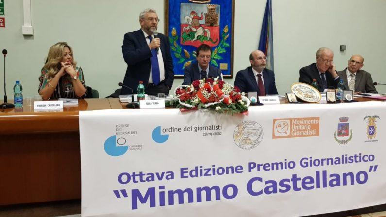 """IX° ediz. Premio giornalistico """"Mimmo Castellano"""": ecco i premiati"""