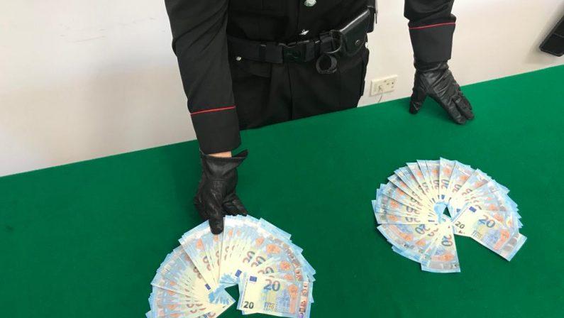 Banconote contraffatte, 18 enne arrestato dai Carabinieri
