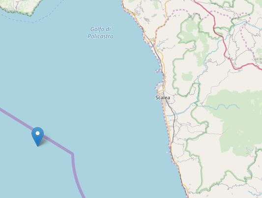Nuovo terremoto scuote tutto il Cosentino: magnitudo 4.4 con epicentro in mare