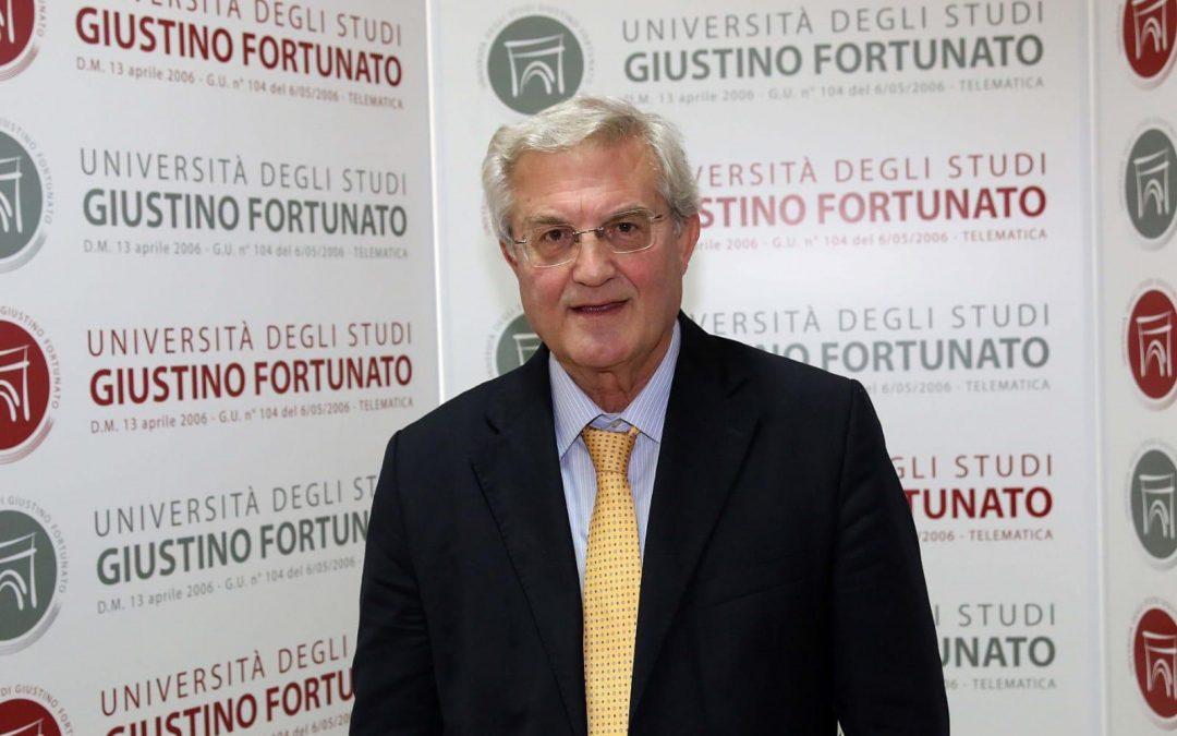 Giuseppe Acocella, nuovo Rettore dell'Unifortunato