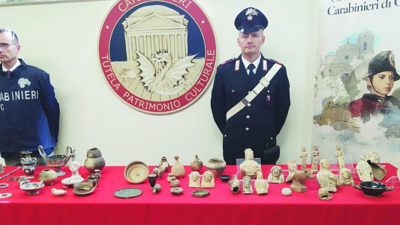 Tombaroli, un arresto e 5 indagati in Basilicata