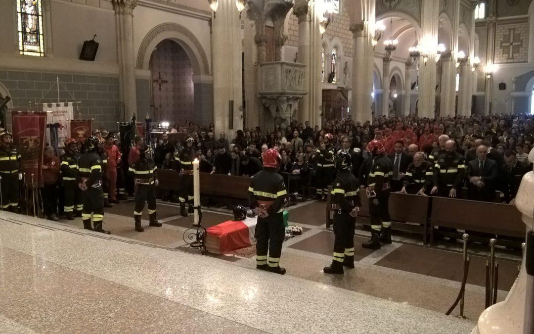 I funerali di Antonino Candido a Reggio Calabria