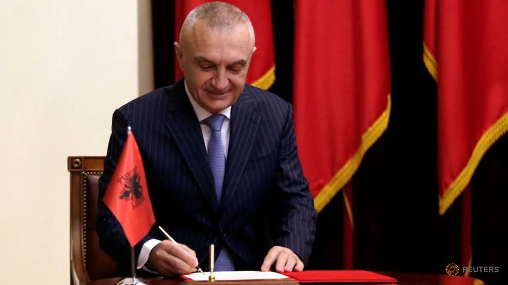 Il Presidente dell'Albania Ilir Meta ospite della comunità Arbëreshe a Plataci
