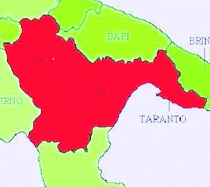 La Provincia di Taranto blocca il passaggio alla Basilicata