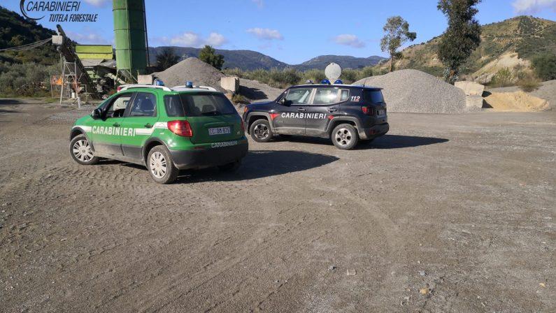 Ambiente: impianto di calcestruzzi sequestrato nel Cosentino, una denuncia