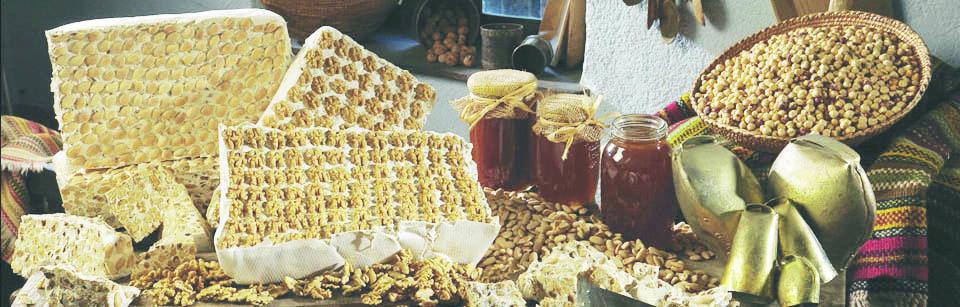Eccellenze. Il vero torrone sardo si fa a Tonara solo miele e frutta secca dei boschi