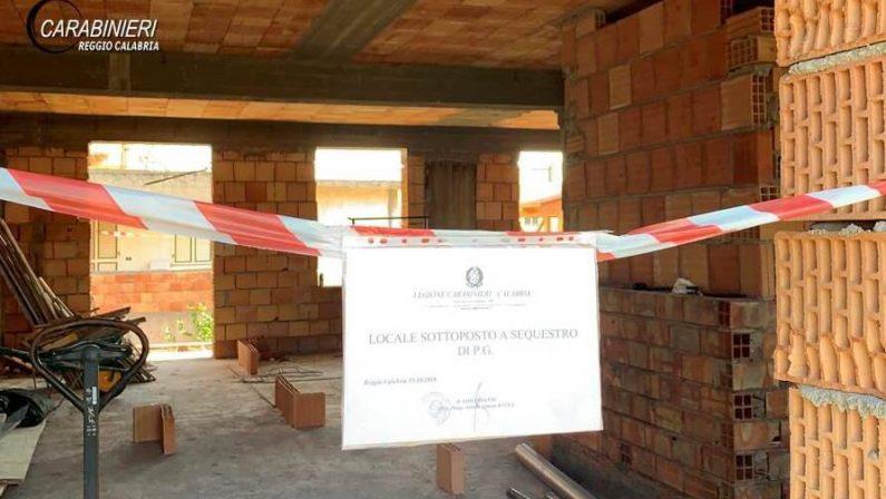 Abusivismo edilizio, controlli nel Reggino con la denuncia di 4 persone e sequestri