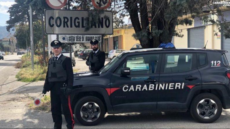Botte e minacce a moglie e figli, arrestato un 29enne nel Cosentino