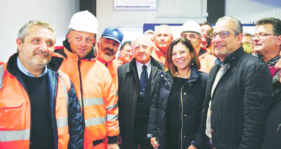 """Il Ministro De Micheli: """"Lo sviluppo viaggia sull'Alta Capacità"""""""