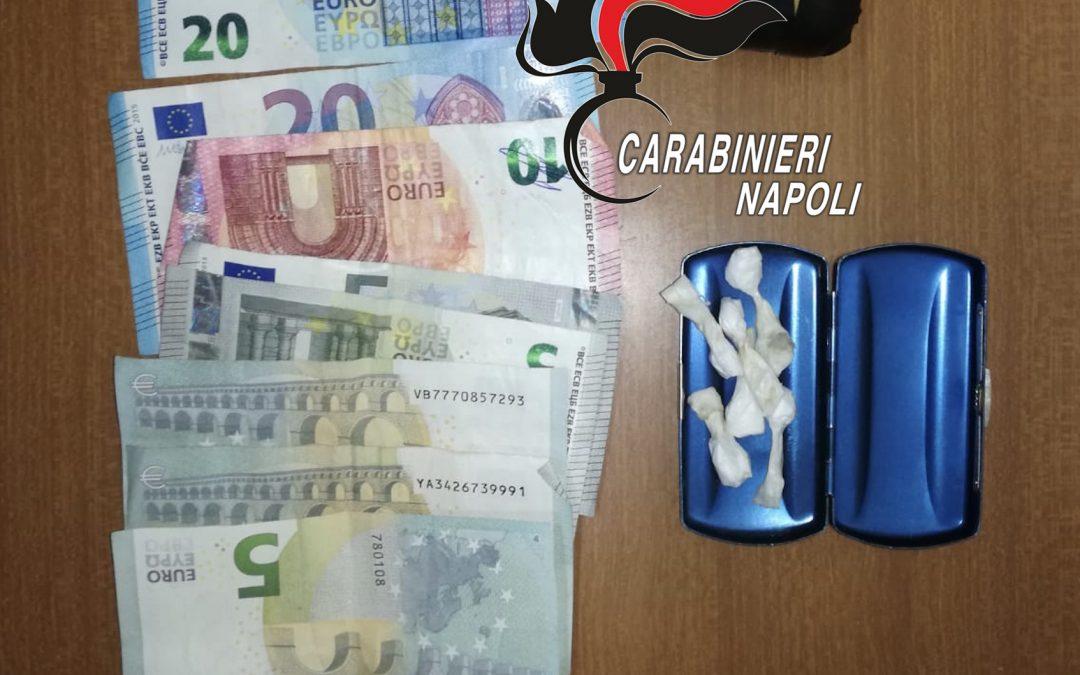 Pozzuoli: cocaina nel rione Toiano, 40enne arrestato