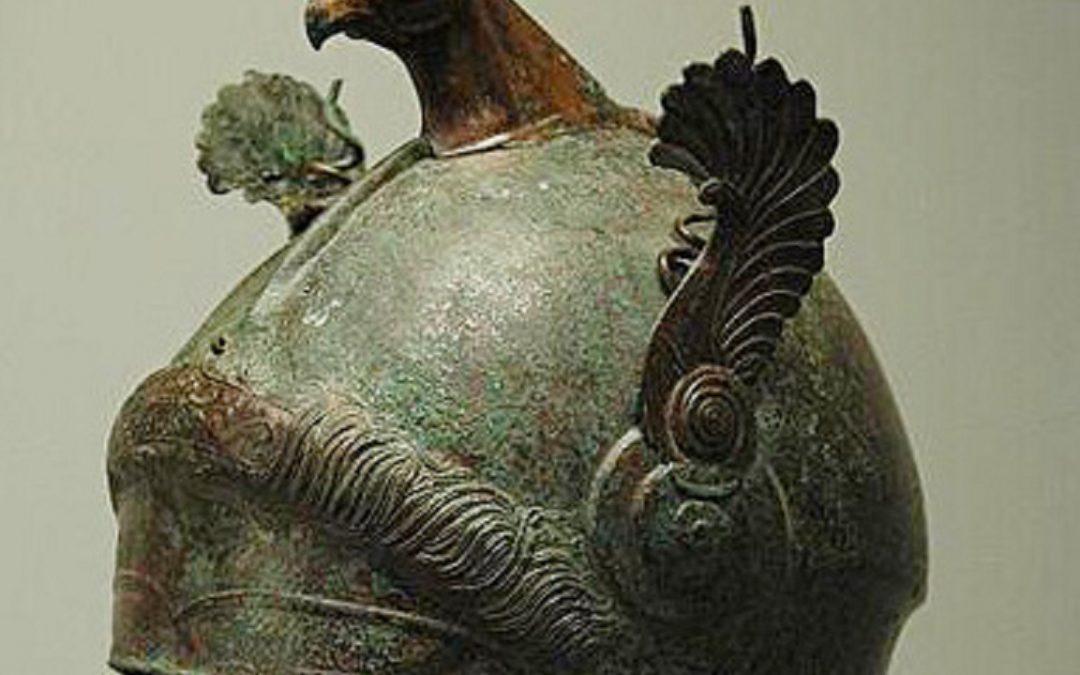 Il mistero dell'elmo trafugato nel Crotonese ed esposto al Getty Museum di Los Angeles