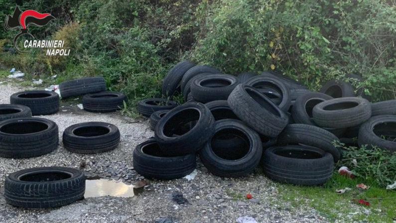 Sversamento illecito di rifiuti, quattro persone denunciate