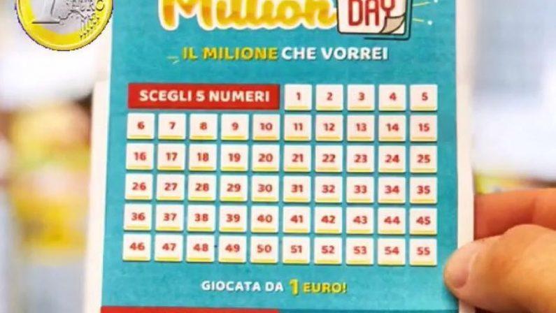 Millionday, doppia vincita da un milione nello stesso giorno: a Potenza uno dei due fortunati