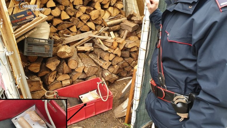 Due ordigni esplosivi sequestrati dai carabinieri nel Catanzarese