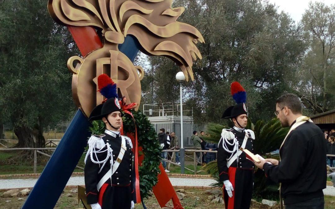 Vibo Valentia: i carabinieri rendono omaggio a Gaetano Miscia, l'eroe in divisa