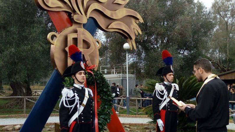 Vibo Valentia:i carabinieri rendono omaggio a Gaetano Miscia, l'eroe in divisa FOTO