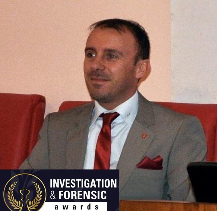 """L'irpino Pignataro riceve il prestigioso riconoscimento """"Investigation Forensic Award"""""""