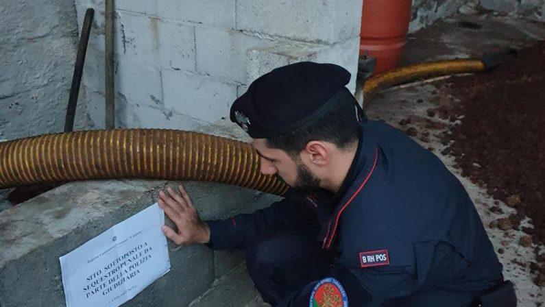 Ambiente, inquinamento con rifiuti oleari: sequestrato frantoio nel Vibonese