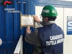 Sequestrata ditta di carpenteria metallica priva di qualsiasi autorizzazione.