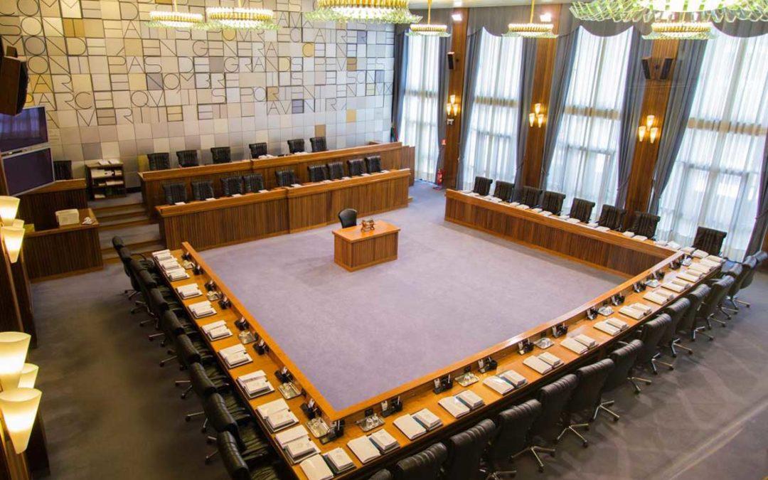 Il Consiglio regionale della Valle d'Aosta